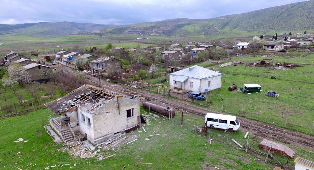 Situation dans le Haut-Karabakh en 2016