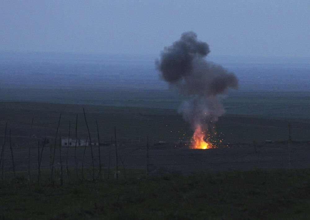 La situation sur la zone du conflit du Haut-Karabakh