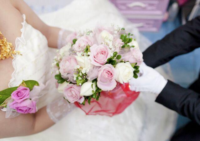 un mariage (image d'illustration)