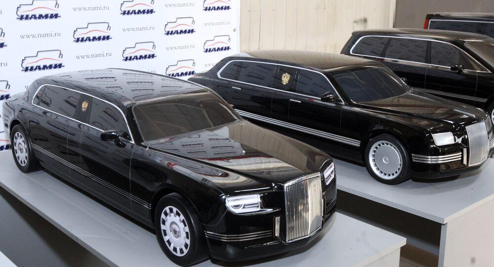 Et voici la nouvelle limousine made in Russia du président Poutine