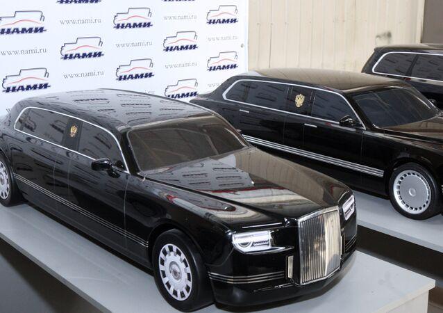 Les limousines du projet Kortezh (Cortège), conçues et fabriquées en Russie