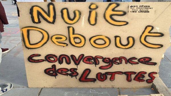 Nuit Debout - Sputnik France
