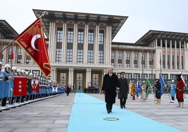 Palais du président Erdogan