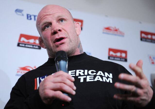 American fighter mixed martial arts Jeff Monson