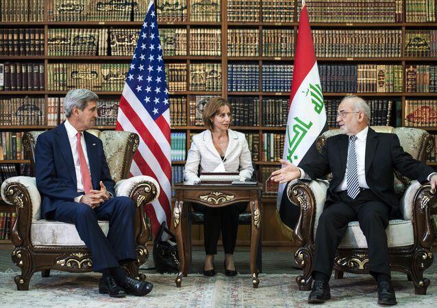 M. Kerry et Ibrahim al-Jaafari