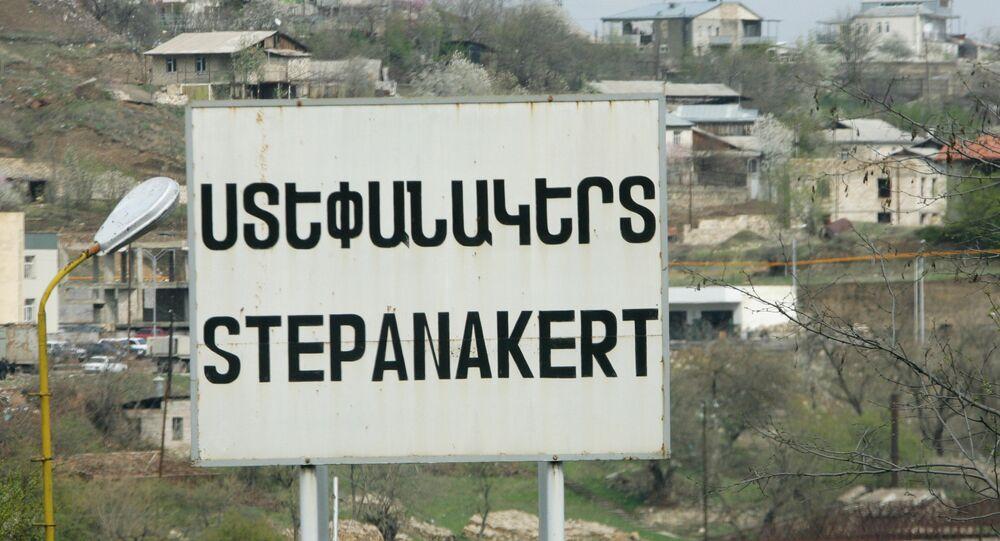 Stepanakert, la capitale de la république du Haut-Karabakh