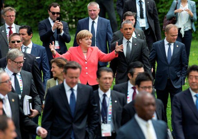 Les leaders du G7