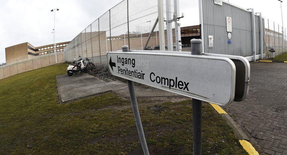 la prison de Bruges en Belgique