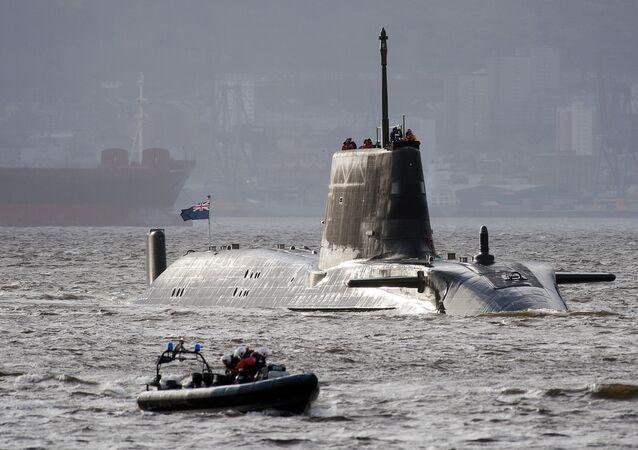 Le sous-marin britannique Astute