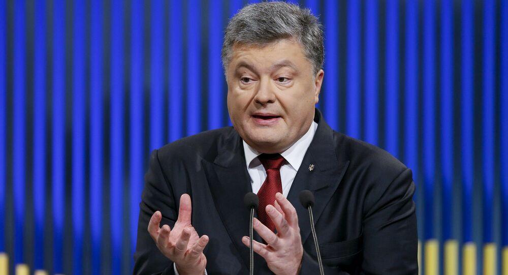 Le président ukrainien Piotr Porochenko