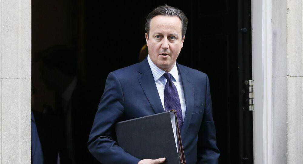 Le premier ministre britannique David Cameron. Archive photo