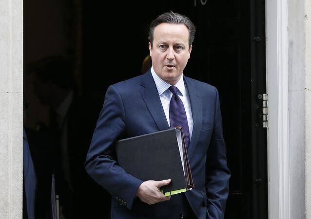 Le premier ministre britannique David Cameron. Archive photo