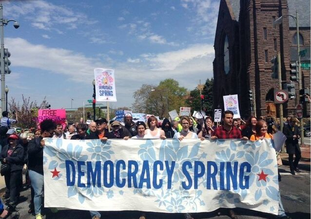 Le mouvement Democracy Spring