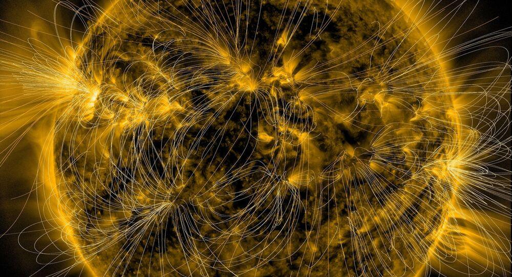 Сhamps magnétiques. Image d'illustration