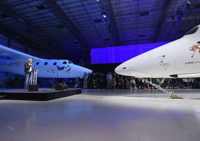 Présentation du SpaceShipTwo