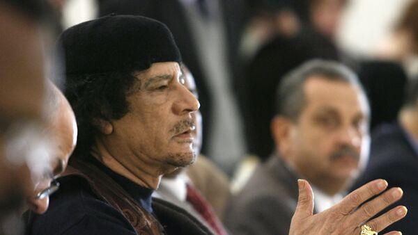 Leader of the Socialist People's Libyan Arab Jamahiriya Muammar Gaddafi - Sputnik France