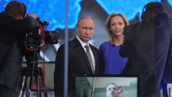 Ligne directe avec le président russe Vladimir Poutine - Sputnik France