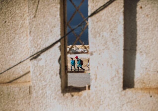 Des enfants, Syrie