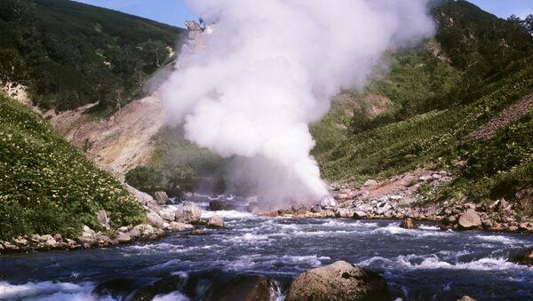 La vallée des geysers au Kamtchatka : une beauté à couper le souffle - Sputnik France