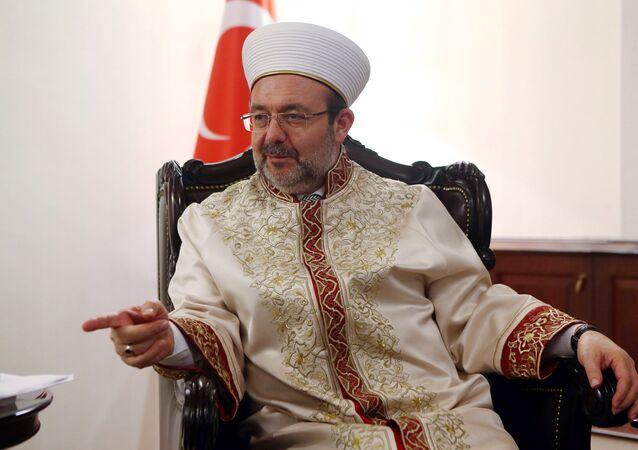 Le grand Mufti de Turquie, Mehmet Görmez