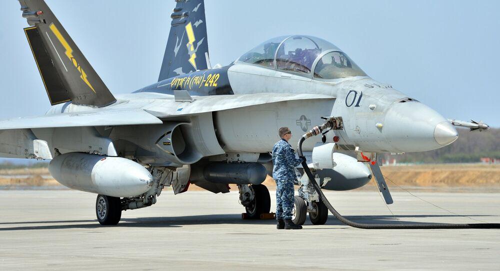 F/A-18 Hornet. Image d'illustration
