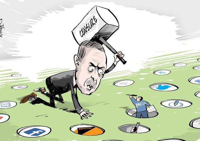 Le blocage de Sputnik est  une violation de la liberté de la presse sans précédent