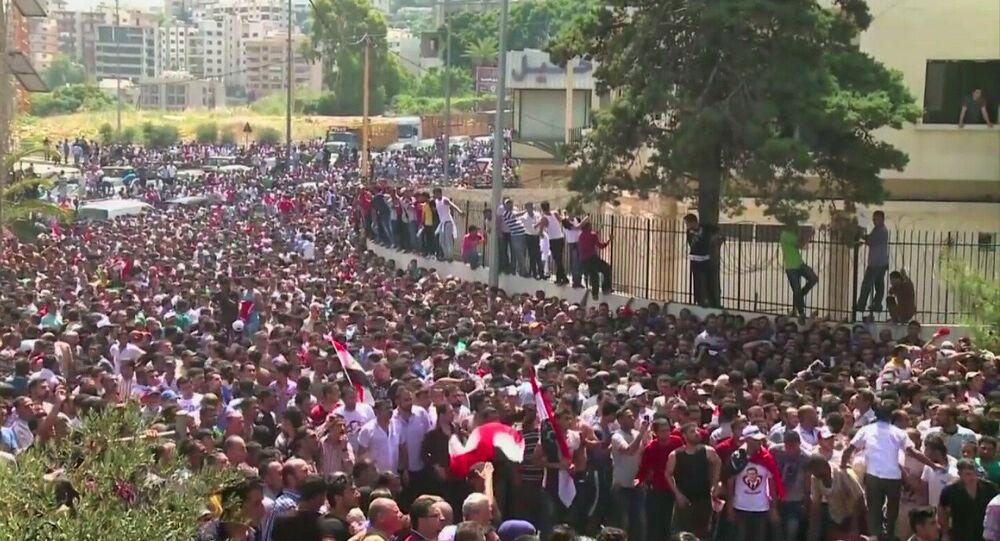 Le vote des Syriens au Liban