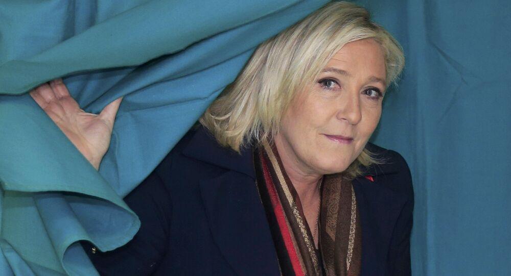 Marine Le Pen sur les pas de Trump en 2017?