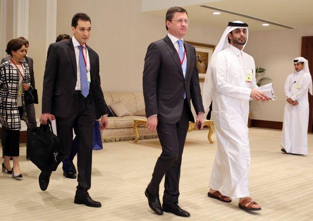 Négociations à Doha, Avril 17, 2016.