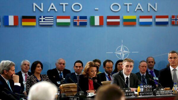Une réunion ministérielle de l'Otan à Bruxelles - Sputnik France