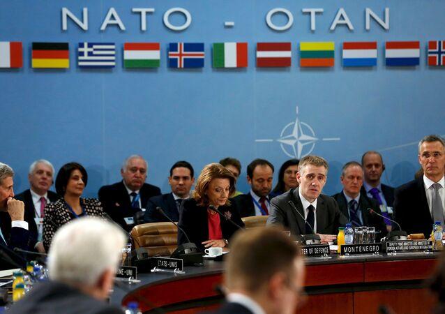 Une réunion ministérielle de l'Otan à Bruxelles