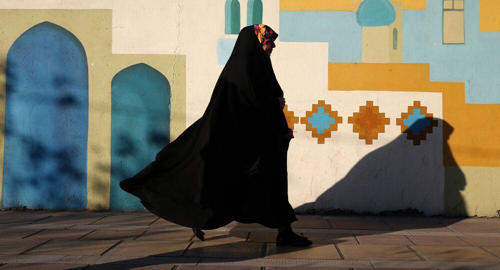 Voile porté par musulmane