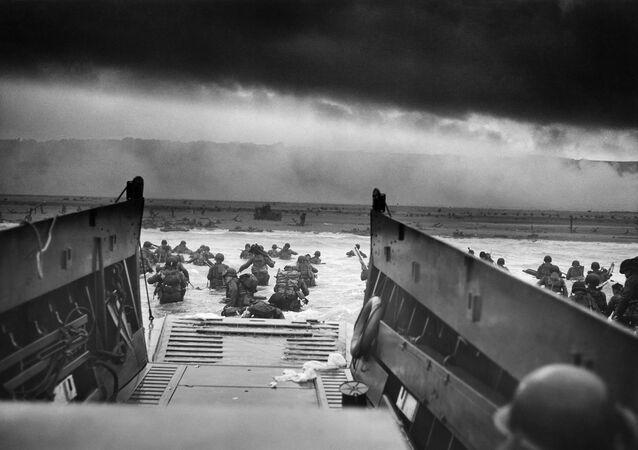 Le débarquement en Normandie, juin 1944