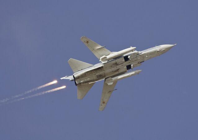 Le bombardier Su-24