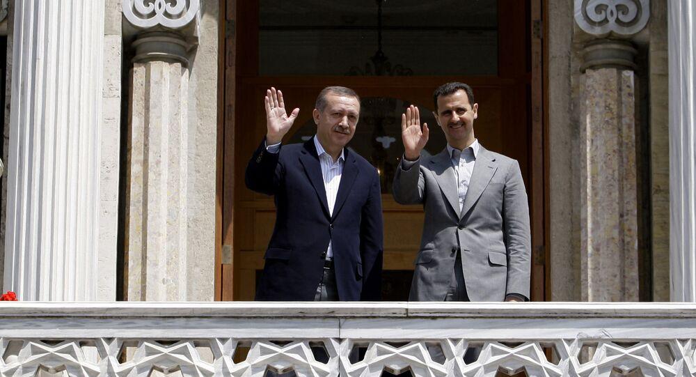 Assad et Erdogan