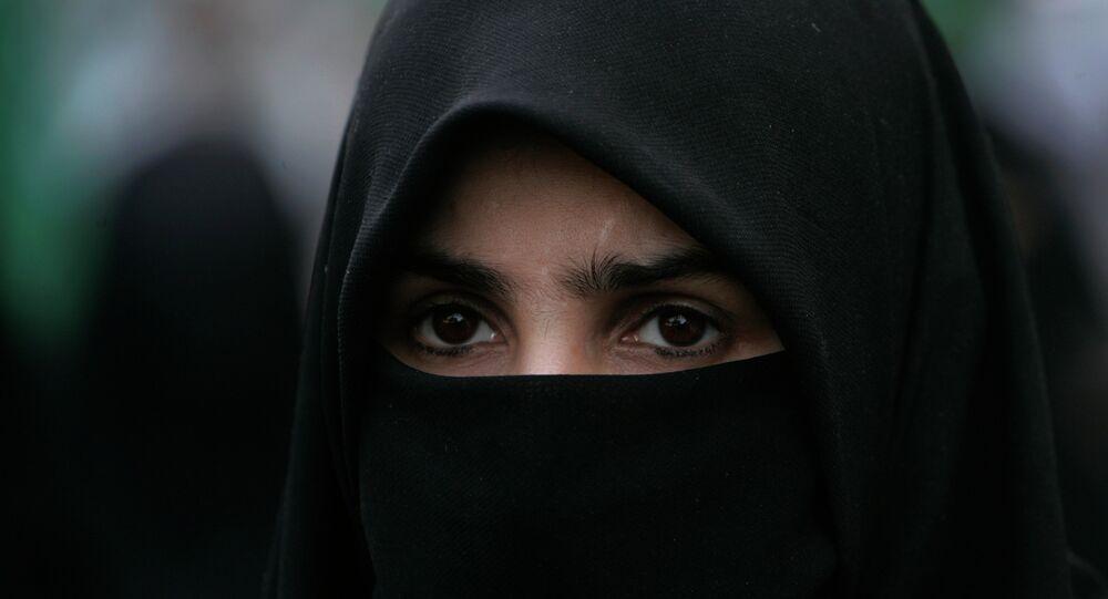 Une femme arabe