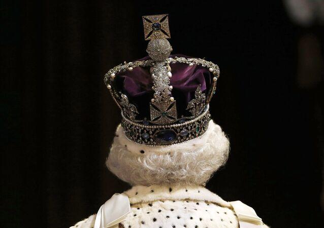 Reine du Royaume Uni Elysabeth II