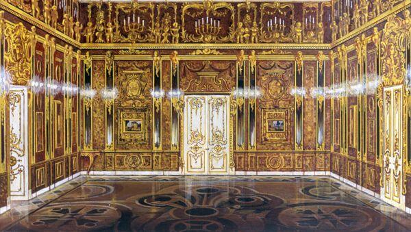 La reproduction de la Chambre d'ambre - Sputnik France