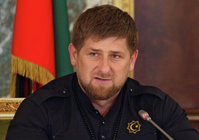 Le chef par intérim de la république de Tchétchénie Ramzan Kadyrov