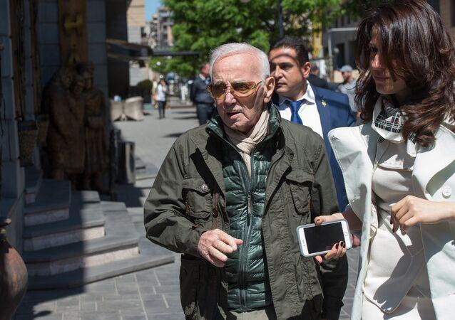 Charles Aznavour à Erevan