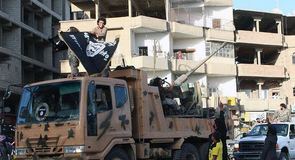 Daech à Raqqa, Syrie