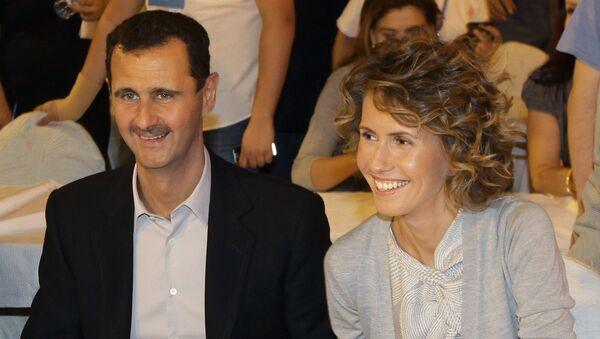 Couple présidentiel syrien - Sputnik France