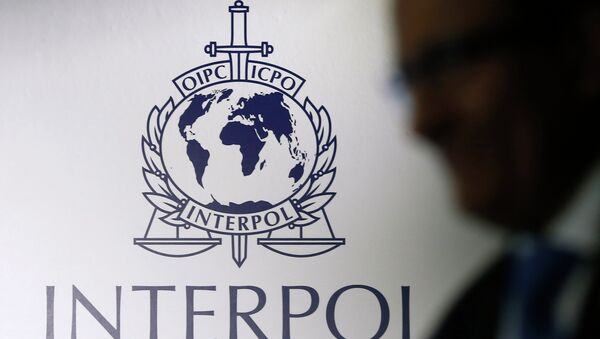 Logo d'Interpol - Sputnik France