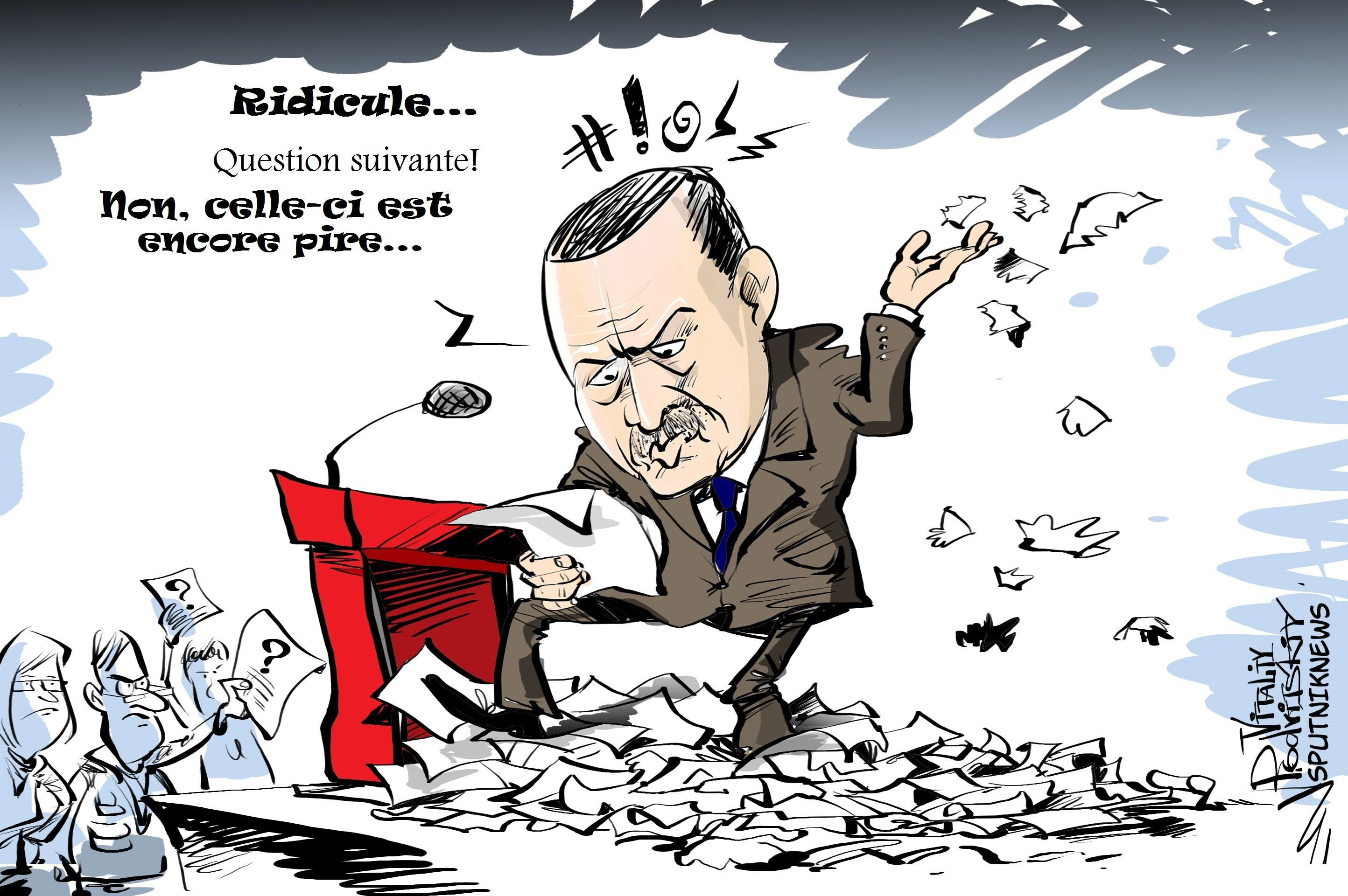 Turquie: un journaliste étranger? Dehors!