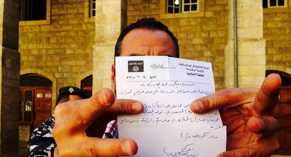 certificat de conversion à l'Islam signé Daech
