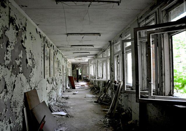 Bâtiment abandonné