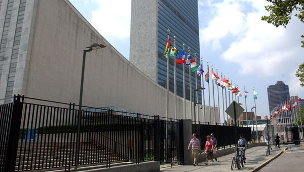 The United Nations headquarters is seen in New York, Friday, July 27, 2007 . - Sputnik France