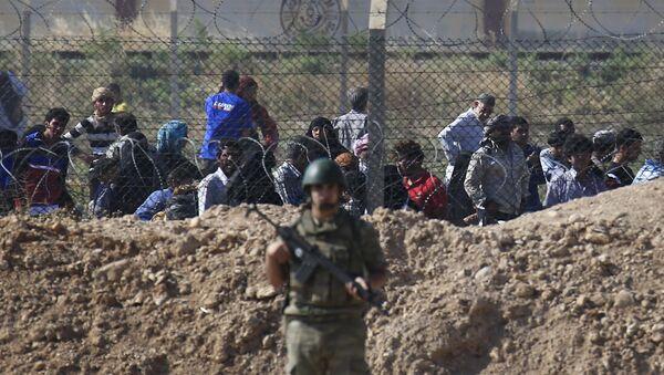 La frontière turco-syrienne - Sputnik France