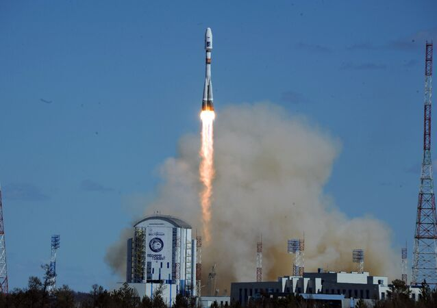 The first launch from the Vostochny space center