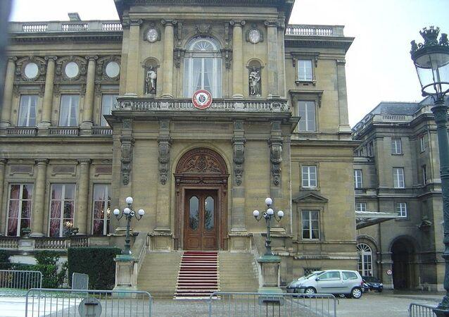 Le siège du ministère français des Affaires étrangères, sur le Quai d'Orsay à Paris